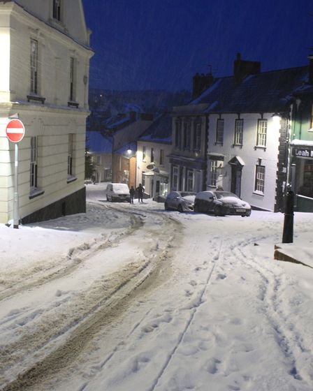 Ref sho 09 18 ottery in snow 1513. Picture: Dawn Russell