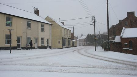 Ref sho 09 18 ottery in snow 1465. Picture: Dawn Russell