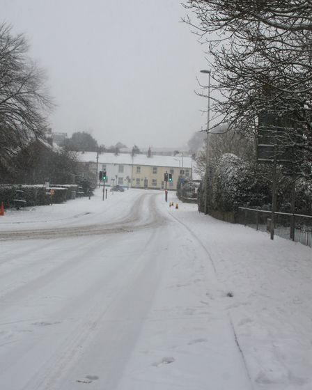 Ref sho 09 18 ottery in snow 1425. Picture: Dawn Russell