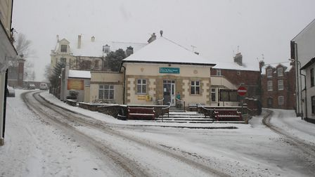 Ref sho 09 18 ottery in snow 1418. Picture: Dawn Russell