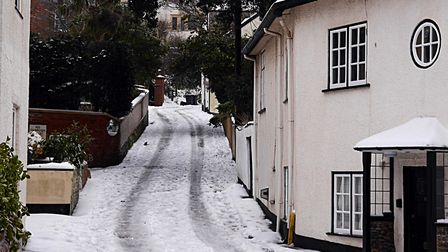 Budleigh Salterton Fore Street Hill. Picture: Barbara Mellor