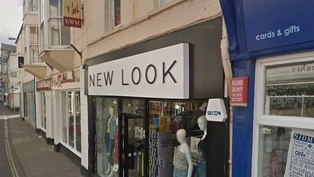 Sidmouth's New Look outlet is one of 60 stores identified by New Look for potential closure. Image: