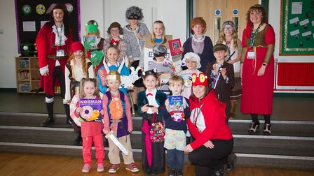 Ottery Primary school's world book day. Ref sho 10 18TI 8782. Picture: Terry Ife