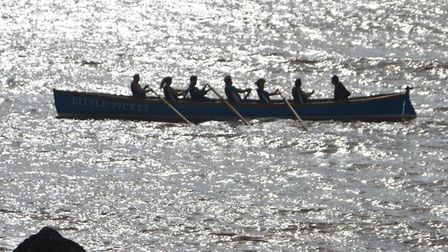 Sidmouth Gig Club members enjoy their first row in the new gig.