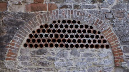 Pipes and bricks. Picture: Lycia Moore