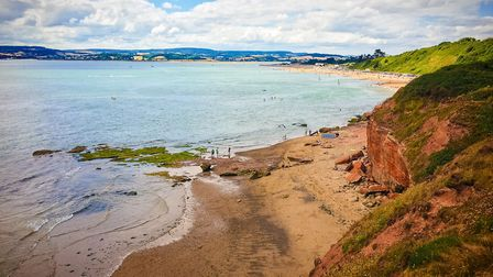 I was taking a bike ride across the cliffs and had to get a picture. Picture: Nick Evans