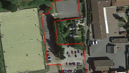 Proposed carpark works at The King's School. Picture: Google Maps