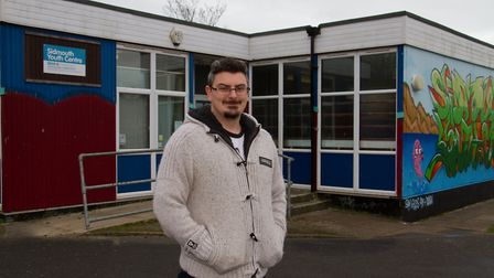Ben Feasey at Sidmouth Youth Centre. Ref shs 06 18TI 7345. Picture: Terry Ife