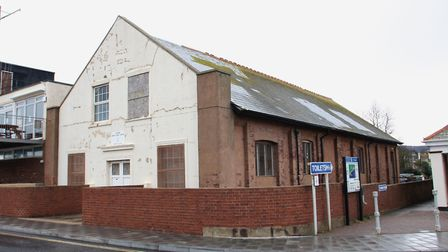 P7861-10-09SH The drill hall at Port Royal, Sidmouth. Picture by Simon Horn.