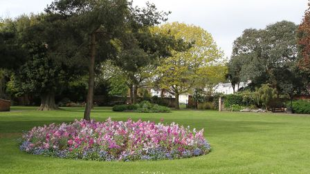 Sidmouth Urban District Council opened Blackmore Gardens as a public park in 1953. Photo by Simon Ho