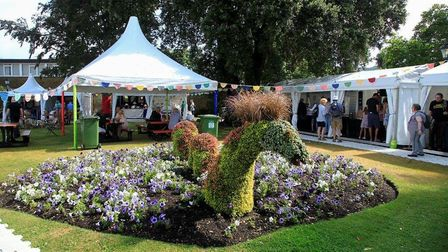 Blackmore Gardens has been one of the venues for activities during Sidmouth FolkWeek.