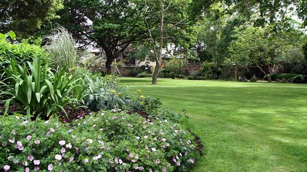 Sidmouth Urabn District Council opened Blackmore Gardens as a public park in 1953. Picture by Alex W