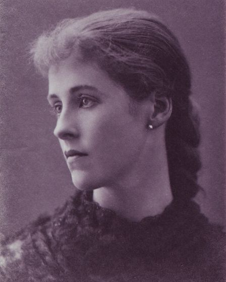 Mrs Grace Harriet, who sold Blackmore Hall to Sidmouth Urban District Council Photo courtesy Geof