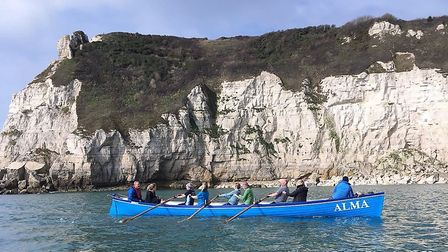 Sidmouth Gig Club members putting on of the club gigs through its paces.