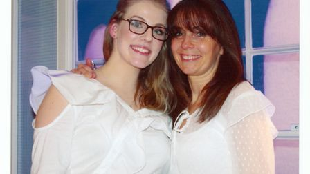 Pure Indulgence Boutique's Katie and AnnMarie Bower organised a fashion show to raise money for Sidm