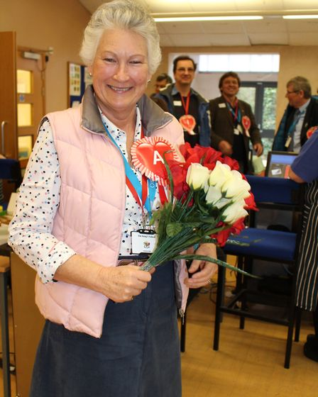 Councillor Susie Bond was named one of the winners of the political speed dating event at The King's