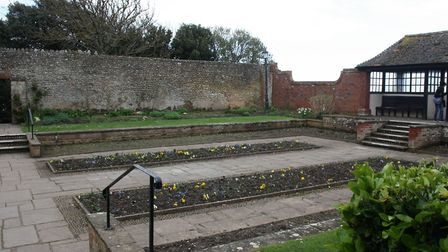 Depleted flowerbeds at Connaught Gardens