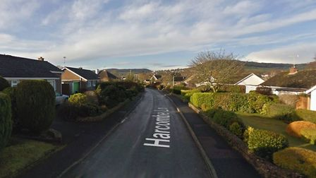 Harcombe Lane - Sidford. Picture: Google Maps