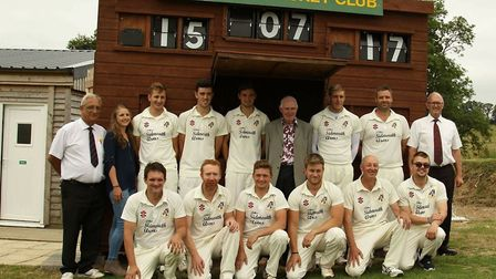 Upottery Cricket Club is thriving both on and off the pitch.