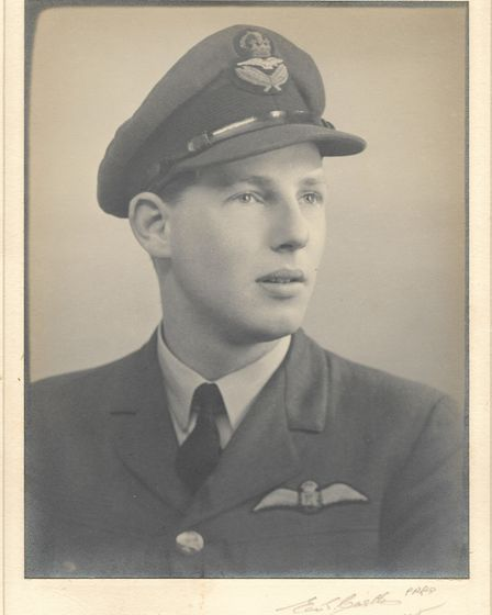 Flight Lieutenant Laurie Leask also features in the exhibit. During WWII he undertook his flying tra