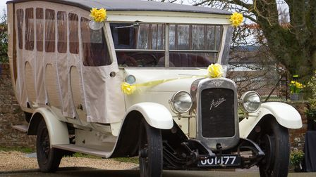 The Toast Rack dressed up for Daff Day at Kennaway House. Ref shs 14 18TI 0718. Picture: Terry Ife