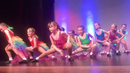 Funkifeet 2018 dance show at the Manor Pavillion. Picture: Julia Waterfield