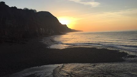 Taken this morning. Picture: Stephen French
