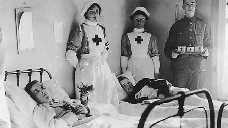 Members of the Voluntary Aid Detachment (VAD).
