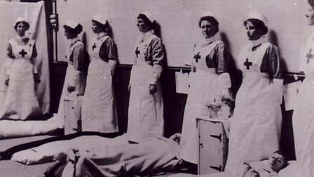 Members of the Voluntary Aid Detachment (VAD),