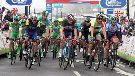 Tour of Britain 2016 stage six from Sidmouth. Ref exb 36-16SH 7421 Picture: Simon Horn.