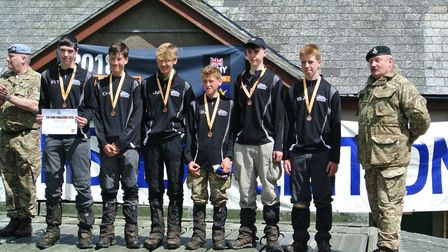 The 35B team completed their course and was made up of Ryan, Ben, Max, Ollie, Joe, George