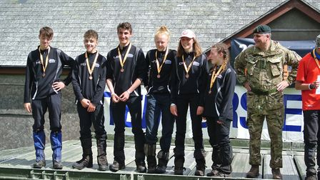The 35A team was made up of Harvey, Jess, Darcy, Ellie-Jayne, Lorenzo, Finlay