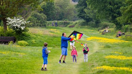 Go fly a kite event on Peak Hill. Ref shs 21 18TI 4033. Picture: Terry Ife
