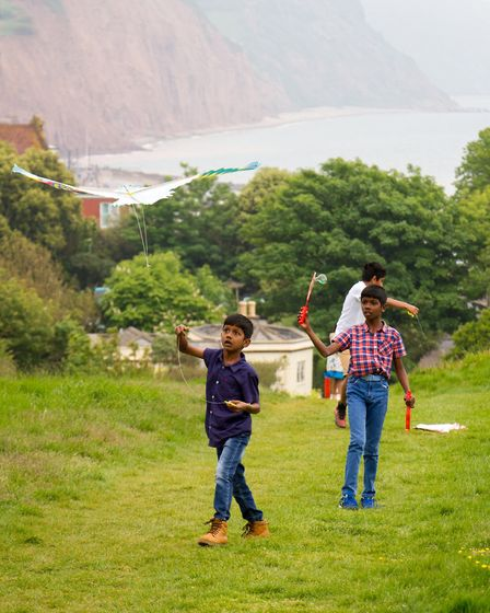 Go fly a kite event on Peak Hill. Ref shs 21 18TI 4013. Picture: Terry Ife
