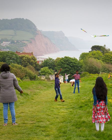 Go fly a kite event on Peak Hill. Ref shs 21 18TI 4011. Picture: Terry Ife