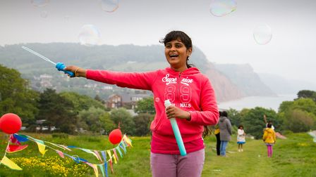 Go fly a kite event on Peak Hill. Ref shs 21 18TI 4010. Picture: Terry Ife
