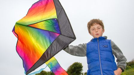 Go fly a kite event on Peak Hill. Ref shs 21 18TI 3998. Picture: Terry Ife