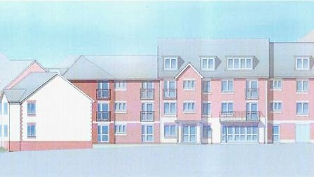 Churchill Retirement Living plans to demolish the former Green Close care home and build 39 apartmen