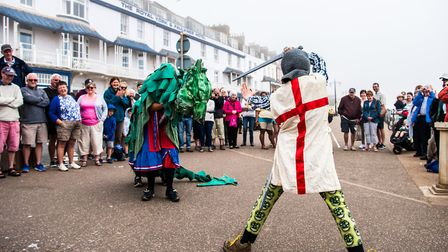 St George's Day parade. Picture: www.kylebakerphotography.com