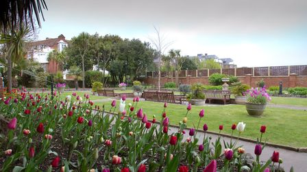 Connaught Gardens in bloom. Ref shs 17 18TI 1828. Picture: Terry Ife