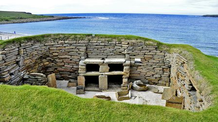 Skara Brae is a stone-built Neolithic settlement, located on the west coast of Mainland, the largest