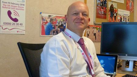 Andrew Broderick has been nominated for a national nursing award.