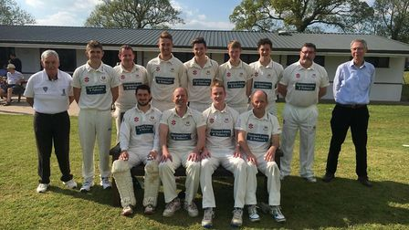 Sidmouth CC 2nd Xi at the start of a new Tolchards Devon League cricket season