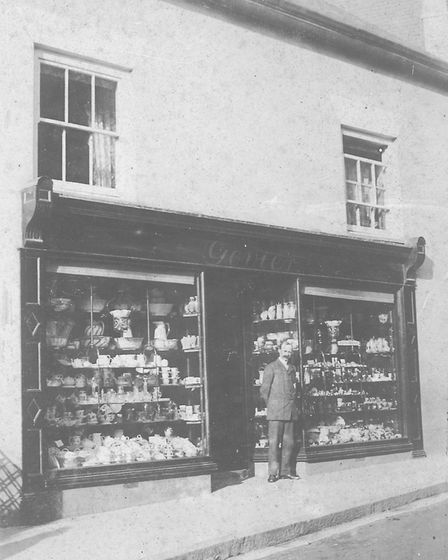 William Govier, when the shop was located next door to current site