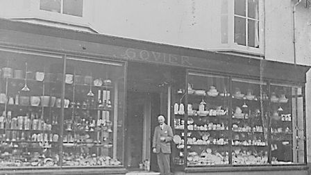 Govier's shop in the early 1900s