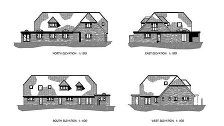 First look at Sidmouth Hospiscare's plans for the old Sidford Surgery, including an extension to cre