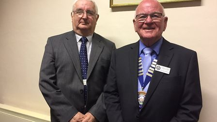 Councillor Ian Holmes has been re-elected as deputy mayor and Glyn Dobson as Mayor for Ottery Town C