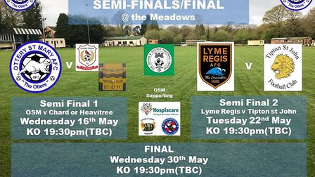 Ottery St Mary forthcomingb matches
