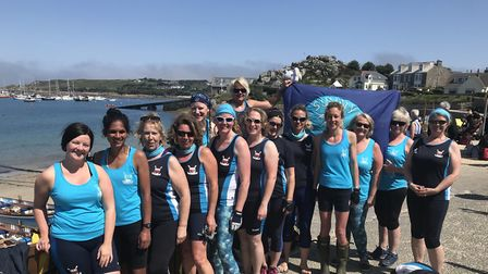 Sidmouth Gig Club ladies at the 2018 World Championships