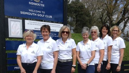 The Sidmouth Creasy team.